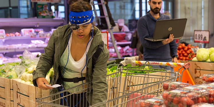 Brainwaves: how to study the shopping behaviour in the supermarkets